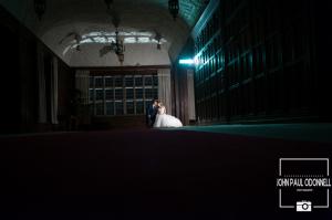 Fanhams Hall Long Gallery Closing Shot. John Paul ODonnell Photography